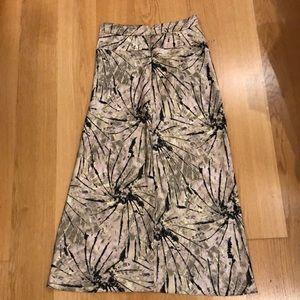 Free people Norman bias skirt tie dye